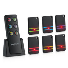 Updated Wireless RF Item Locator/Key Finder LED Flashlight Support + 6 Receivers