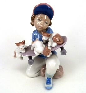 LLADRO LITTLE RIDERS #7623 EVENT MODEL 1994 - 1995 RETIRED BY SALVADORE DEBON