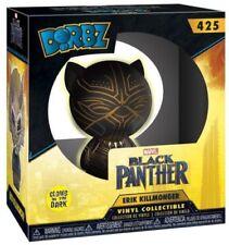Funko Dorbz: Black Panther Movie - Yellow Glow Erik Killmonger Collectible Figur