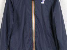 Cappotti e giacche da uomo blu marca K. WAY lunghezza ai fianchi