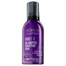L'OREAL 6.8 oz Can BOOST IT Air-Whipped DENSIFYING FOAM Fibralock 3 STRONG HOLD