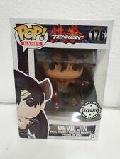 Funko Pop! Vinyl - Tekken - Devil Jin 176 - Exclusive - NEW, Genuine