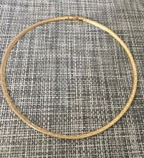 Necklace Choker Omega 42 cm Gold Plated 18 Carat Jewelry Women