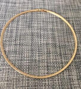 Collier tour de cou oméga 42 CM Plaqué Or 18 carats Bijoux FEMME