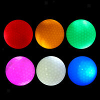 MagiDeal 6Pcs LED Flashing Light Up Golf Balls for Sports Night Golfing