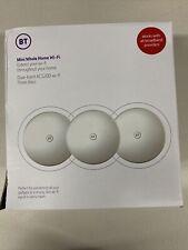BT Mini Whole Home Wi-Fi Three Discs Dual Band AC1200