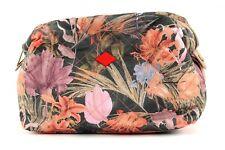 Oilily Flower Field M Toiletry Bag Tasche Kulturtasche Kosmetiktasche Fig Damen