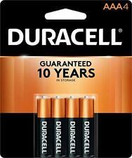 8 Duracell Batteries AAA (2) 4-Packs Exp Mar 2028