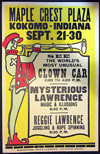 Original Mysterious Reggie Lawrence Window Card