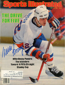 New York Islanders Legend Mike Bossy Signed 5/14/1984 Sports Illustrated Steiner