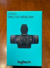 BRAND NEW! Logitech C920s Pro HD 1080p Webcam with Privacy Shutter Fast Shipping