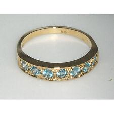 Ringe mit Edelsteinen im Band-Stil aus Gelbgold für Damen