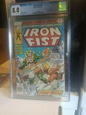 Iron Fist #14 CGC 8.0 Hot Key! (First Appearance Sabertooth)