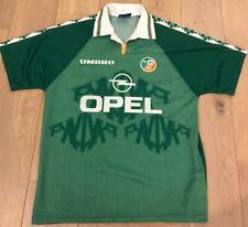 REPUBLIC OF IRELAND UMBRO 97/98 HOME FOOTBALL SHIRT JERSEY SIZE L