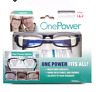 One Power Readers .5 to 2.50 Glasses - Black