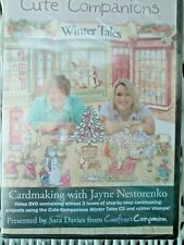 CUTE COMPANIONS WINTER TALES CRAFTER'S COMPANION DVD CARD MAKING BRAND NEW