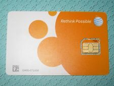 AT&T Micro SIM card New Never Activated
