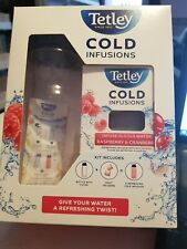 new and boxed tetley cold infusions starter kit
