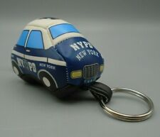 Nypd New York Police Department Car Souvenir Soft Key Chain