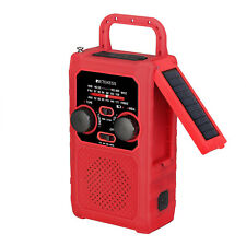 TR201 Pocket FM/AM Radio SOS Emergency Alarm Weather Warning Trip Hiking Outdoor
