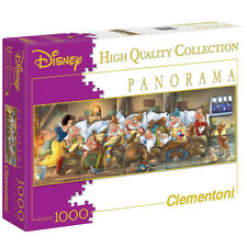 Clementoni 390045. Bianco come la Neve. Puzzle panoramico 1000 Parti. 98x33cm