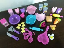 Minnie Mouse Bowtastic Kitchen Food Accessory Pretend Playset Replacements Lot