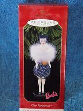 New Hallmark Barbie Doll Gay Parisienne Ornament