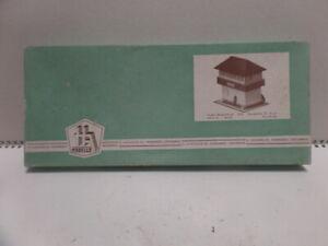 Auhagen 3/09 Bausatz Pappe DDR selten 60iger Jahre Owo Piko Mamos Herr Dahmer