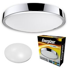 Energizer CCT LED Bathroom Ceiling IP44 Warm Cool Daylight White Light Fitting