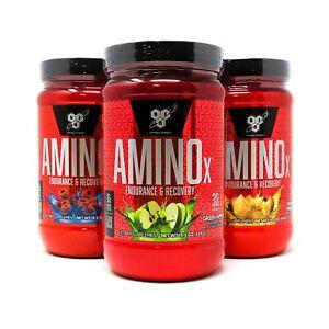 BSN Amino X Endurance & Recovery 10g Amino Acids 30 Serv Compare ON Amino Energy