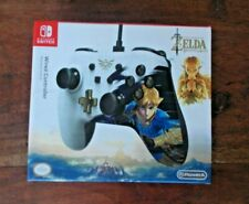 Power A- PRO CONTROLLER For Nintendo Switch Zelda Wired  Great Condition
