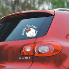 """Hot Girl Baby on Board """"Baby in car"""" Window Car Stickers Auto Truck Vinyl Decals"""