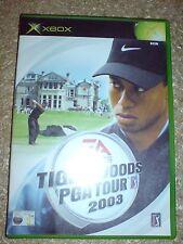 TIGER WOODS PGA TOUR 2003 (XBOX) USED