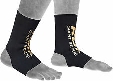 RDX Ankle Foot Support Protector Shin MMA Anklet Pads Brace Gym Guard Sock AU
