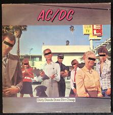 AC/DC Dirty Deeds Done Dirt Cheap Album LP 1981 SD 16033 - EX Vinyl    BON SCOTT
