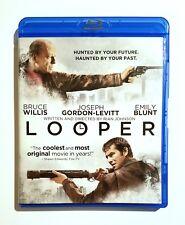 Looper (2012) Like New Blu-ray Joseph Gordon-Levitt, Bruce Willis