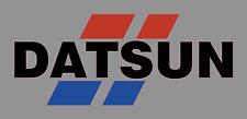 "Vintage DATSUN Racing Premium Die Cut Vinyl Decal Sticker - 9"" Wide - Nissan"