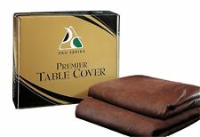 Pro Series 9' Black Leatherette Pool Table Cover  Nylon Backing Free Shipping