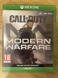 Call of Duty Modern Warfare MW Xbox One