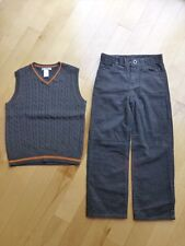 NWT Brand New Janie Jack Boys Corduroy Pants Vest Set 7
