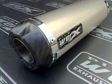 Suzuki SV 1000 Pair of Titanium GP, Carbon Outlet Race Exhausts Cans, Silencers