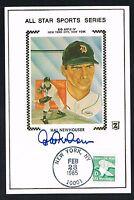 Hal Newhouser signed autograph auto Postcard Baseball Hall of Fame HOF'er