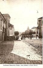 CASALNUOVO MONTEROTARO ( Foggia )  -  Corso Umberto I e Piazza Mercato