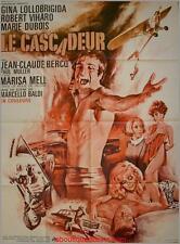 LE CASCADEUR Affiche Cinéma / Movie Poster GINA LOLLOBRIGIDA