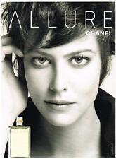 PUBLICITE ADVERTISING  2005   ALLURE    parfum de CHANEL