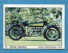 MOTO 2000 - Panini 1972 -Figurina-Sticker n. 18 - ROYAL ENFIELD -Rec