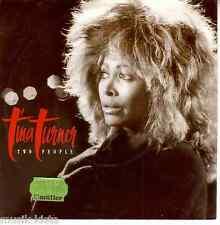 """Tina Turner - Two People > 7"""" Single Vinyl"""