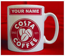 Costa Coffee Logo  Mug personalised with your name or message