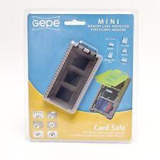 GEPE Card Safe Mini Onyx - HOLDS XD, SD, MMC, RS-MMC, SD-Mini, Memory Stick Duo