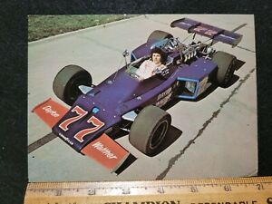 1973 Salt Walther, Indy 500 Post Card